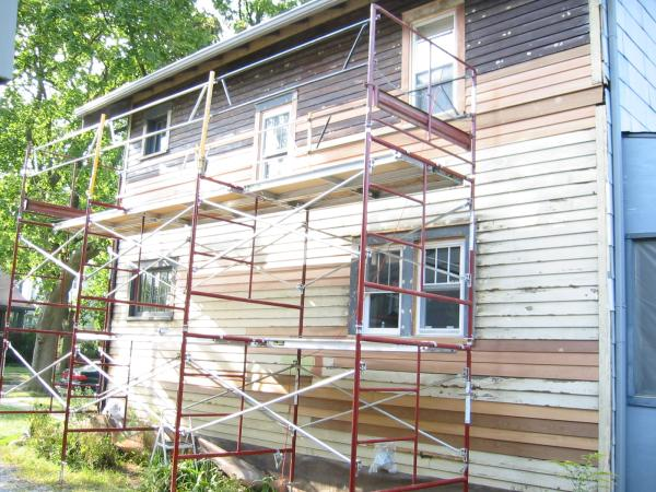 The House Is 90 Scraped Sanding Startssoon Then Painting