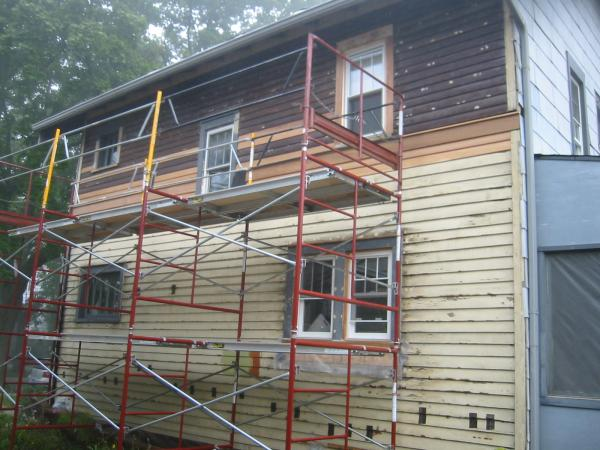 The Last Of The Siding Work Is Done Well Almostall As